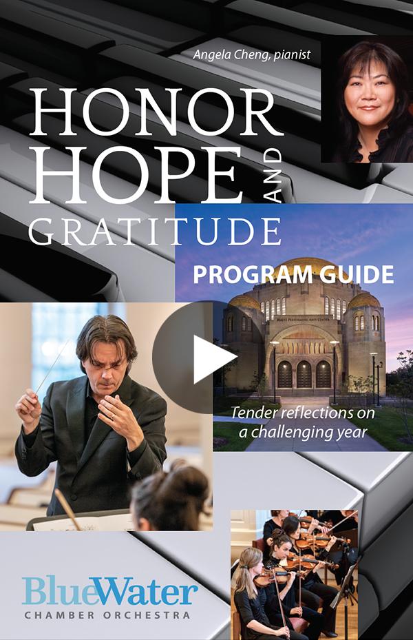 BlueWater Honor, Hope and Gratitude PROGRAM